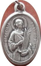 Saint St. Cecilia Medal + Singers, Song, Music, Composers, Poets, Luthiers NS