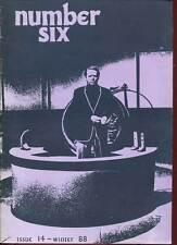 REVUE NUMBER SIX ( LE PRISONNIER). N°14. 1988. EN ANGLAIS.