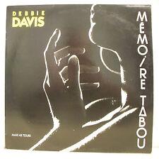 45T MAXI DEBBIE DAVIS Disque Vinyle MEMOIRE TABOU Promo BABY RECORDS 885676-1 M