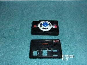 VINTAGE SEGA TOYS 1989 POCKET POWER LOT UFO & RACE CAR CASE