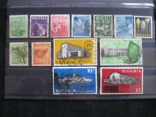 Nigeria: 1961 Definitive Set Used