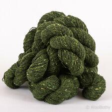 250g Pure Wool *IRISH DONEGAL FINE TWEED*Green 4 Ply knitting yarn Kilcarra 100%