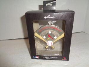 Vintage St. Louis Cardinals Hallmark MLB Ornament, Sealed In Box