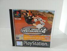 Tony Hawk's Pro Skater 4 Playstation 1 PAL Black Label Skate Game Rare