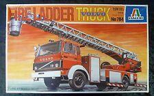 Italeri 784 Volvo Fire Ladder Fire Engine Model Truck Kit 1/24 Scale