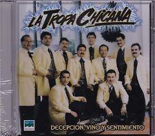 La TRopa Chicana Decepcion Vino y Sentimiento CD New Sealed Nuevo