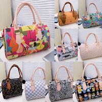 Damen Leder Bag Tote Handtaschen Schultertaschen Ranzen Messenge Tasche Bag