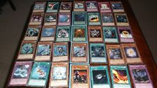 Yugioh Card Mixed Lot some with Protector Sleeves - Yu-Gi-Oh Joblot from 1996 se