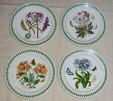 """Portmeirion Botanic Garden Four Dinner Plates (10 1/2"""")"""
