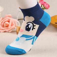 1Pair Lovely Cotton Socks Cartoon Sailor Moon Spring Autumn Woman Girl Boat Sock