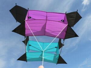 EINLEINER Drachen - Cody Box Lenkdrachen Kite Kastendrachen Steigdrachen