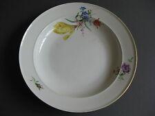 Teller Bunte Blume Meissen Dm.24 cm. 1 Wahl. Marke 1860-1924! 3/8