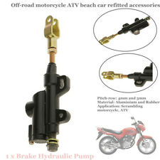 Adjustable Motorcycle ATV Rear Foot Hydraulic Clutch Master Cylinder Brake Pump