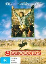 8 SECONDS DVD NEW..BULL RIDING RODEO BULLRIDING COWBOY BAREBACK LANE FROST EIGHT