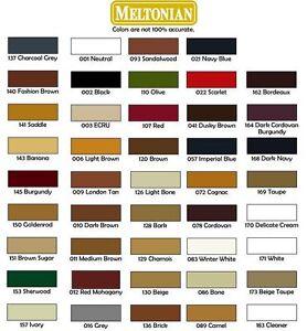 1 Jar Meltonian Brand Shoe Cream Polish 50ml 1.7oz (ALL COLORS)