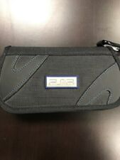 Sony Blue/black Travel Bag UMD For PSP Black PSP-2000 Very Good 7E