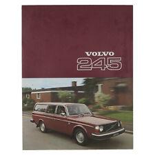 Volvo 245 DL DLE Prospekt 1977 englisch