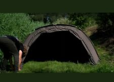 1Mann Zelt/Brolly,Cyprinus Bunker+Overwrap 20.000HH 260x215x120cm.nur 6,4kg OVP!