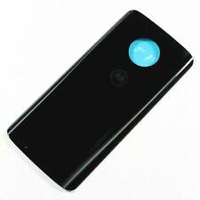 OEM Motorola Moto G6 Battery Back Door Glass Housing Cover Black