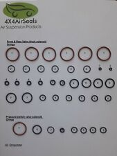 Range Rover Sport Disco 3 4, L322  Air Suspension Valve Blocks Oring Repair Kit