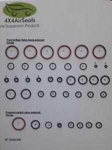 Range Rover Sport Air Suspension Valve Blocks Replacement Oring Repair kit set