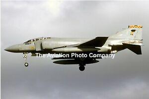 RAF 92 Squadron McDonnell F-4M Phantom FGR.2 XV468/P (1986) Photograph