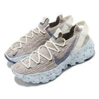 Nike Wmns Space Hippie 04 This Is Trash Sail Fossil Blue Women Shoes CD3476-101