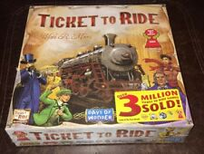 Ticket To Ride Board Game,For 2-5 players, There are 225 Colored Train Cars