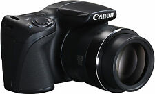 Brand New Canon PowerShot SX400 16MP 30x Zoom Bridge Camera - Black