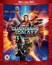 Guardians of The Galaxy 2 3d UK BLURAY