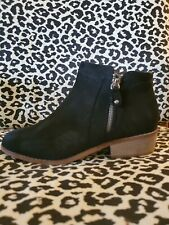 Black  Booties Ankle Boots Size 8 1/2 M NWT