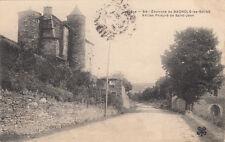 BAGNOLS-LES-BAINS 54 ancien prieuré de saint-jean timbrée 1905