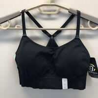Womens C9 LargeChampion Seamless Racer Back Sports Bra Adj Straps
