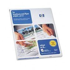 "Genuine HP C6817A  Professional Inkjet Brochure Paper, 8 1/2"" x 11"", Glossy, 50"