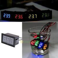 Waterproof 0.56in 2-Wire LED Digital Display DC Voltmeter Voltage Meter Panel