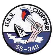 USS Chopper SS-342 Patch - Version D