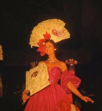 Vintage Stereo Realist Photo 3D Stereoscopic Slide PINUP Mardi Gras Costume