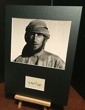 More details for wilfred thesiger british explorer genuine authentic signed 16x12 display uacc