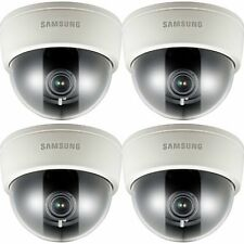 Lot of 4 Samsung SCD-3080N Dome Security Cameras Video Recording CCTV