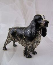 Nymphenburg Cocker Spaniel Hund Dog Jagdhund Figure Figurine Porzellan 1.Wahl