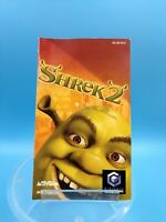 jeu video notice BE nintendo gamecube FRA shrek 2