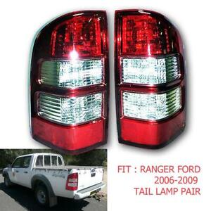 Fit 2006 2007 2008 09 Ford Ranger Xl Pf Ute Pickup Tail light Lamp Rear Red