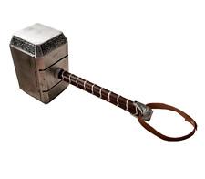 1:1 Thors Mjolnir Hammer SOFT FOAM Cosplay LARP High Quality Halloween Costume