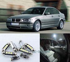 16X White LED Light Interior Package kit Error Free for 99-06 BMW 3Series M3 E46