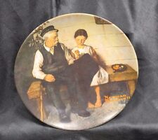 "Knowles ""The Lighthouse Keeper's Daughter"" Collector's Plate By Norman Rockwell"
