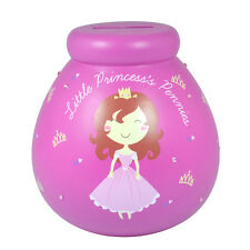 Piggy Bank Ceramic LITTLE PRINCESS  Savings Jar Money Pot
