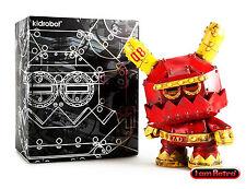 "Mecha Stealth 8"" Dunny Vinyl Figure - Frank Kozik x Kidrobot Brand New"
