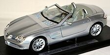 Mercedes Benz Vision SLR Roadster 2004-09 silver metallic crystal laurit silver