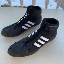 Adidas Wrestling Gym Boxing Hi Top Shoes Men's Size 7.5 EUC