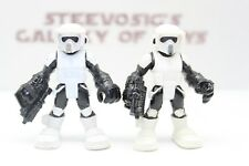 Playskool Star Wars Galactic Heroes Imperial Biker Scout trooper Lot